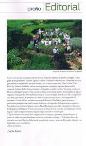 Editorial Revista Jardín Otoño 2013